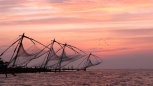 Fishing nets in Kerala